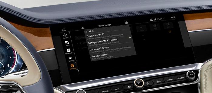 Set Up Guide | My Bentley Support Website | Bentley Motors